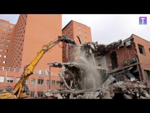 Derribo Del Edificio Bañuelos De Valladolid