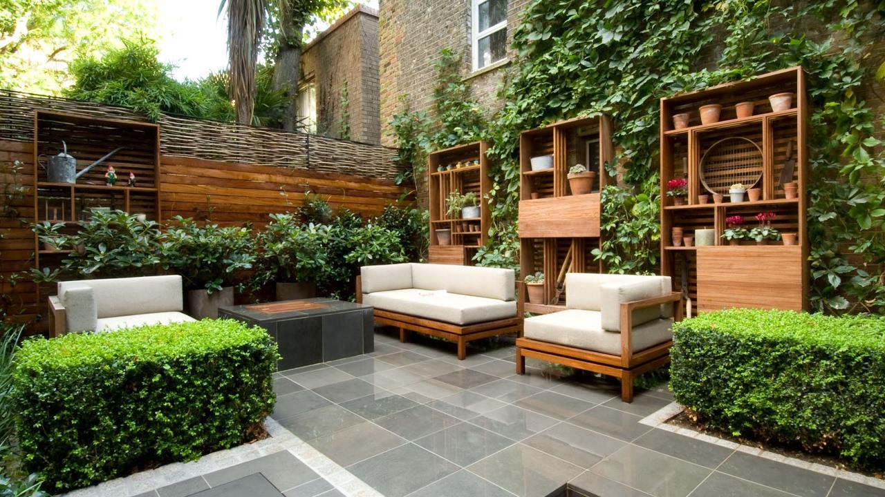 Garden design ideas london