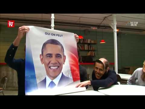 Campaign for Obama for France's presidential post