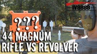 44 Magnum Rifle vs Revolver