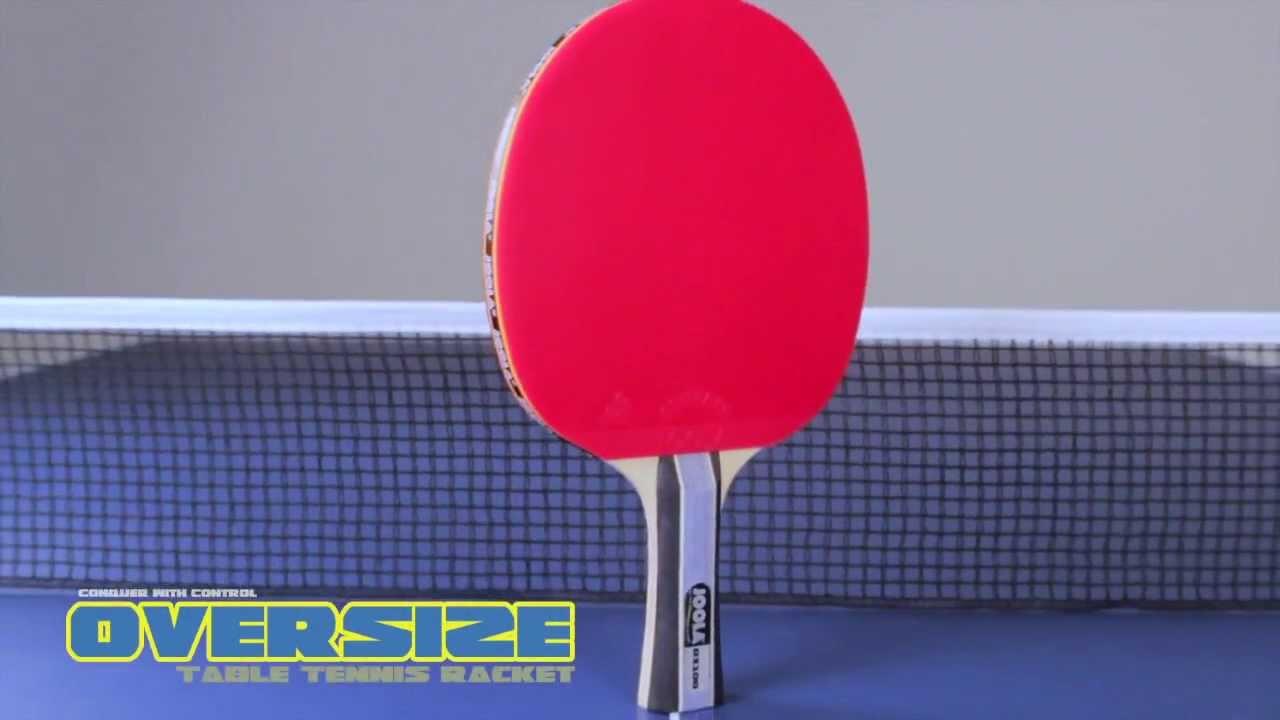 Joola Oversize Table Tennis Racket Youtube