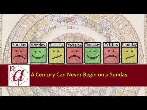 A Century Can Never Begin on a Sunday