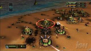 Supreme Commander Xbox 360 Gameplay - Base Bombardment (HD)