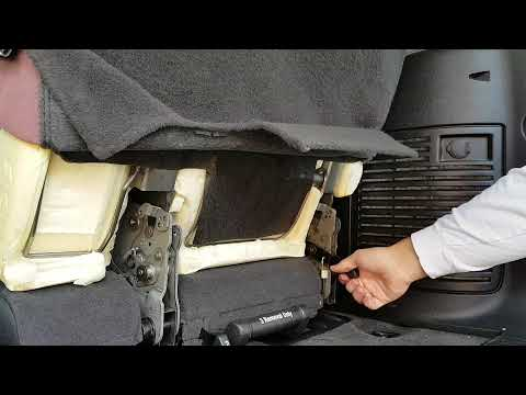 Chevrolet Tahoe Suburban 2007-2014 Third Row Seat Stuck Fix