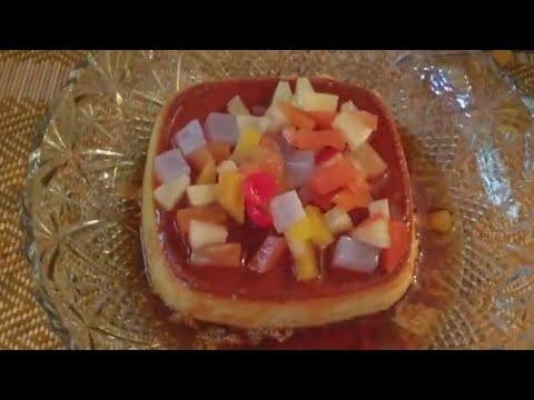 caramel-custard-resipi-mudah!