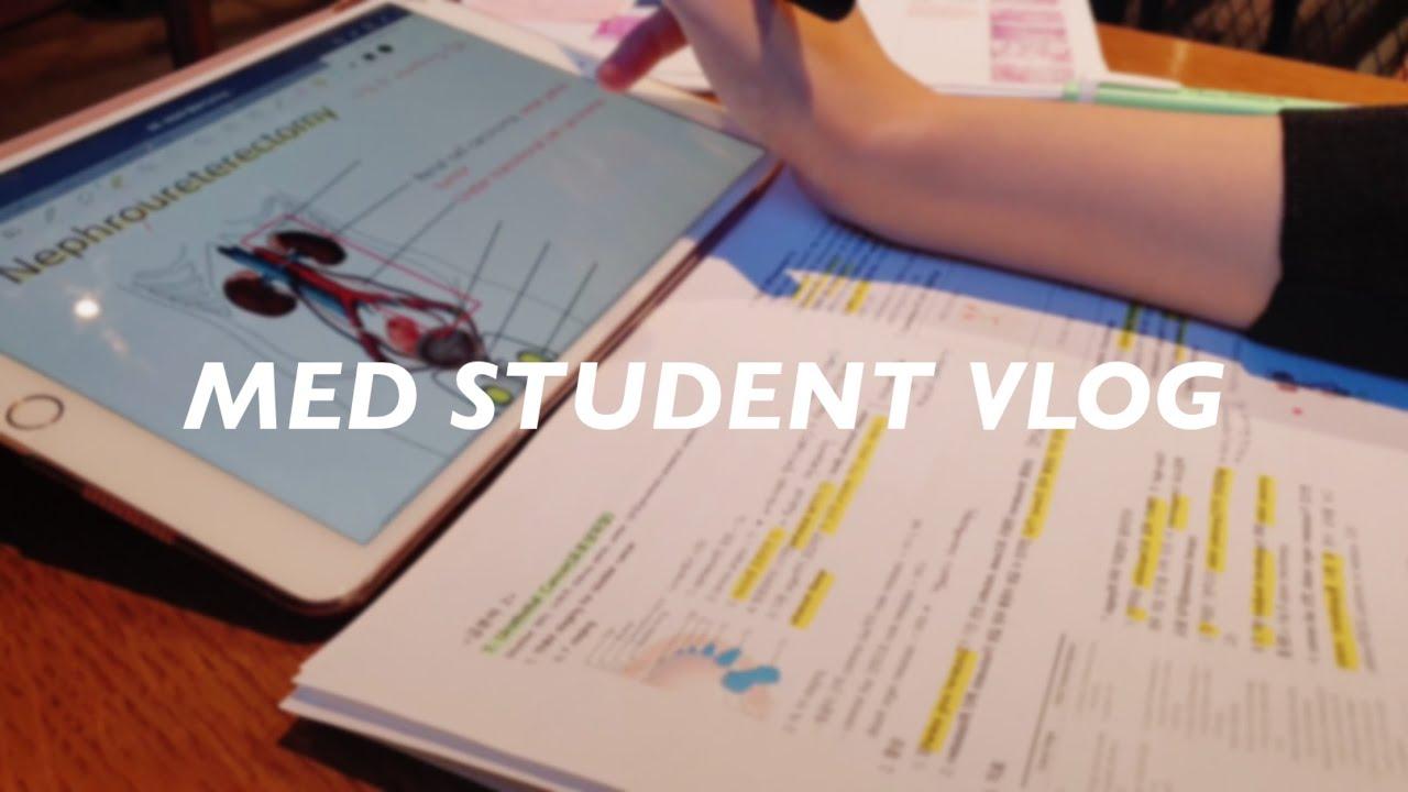 의대생의 시험기간: 공부 계획 짜기, 아이패드로 공부하기, 낮밤 바꾸기   신장학, 비뇨의학 시험기간   공부 브이로그