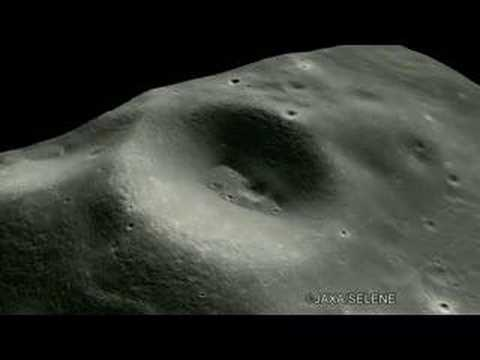 3D images surface of the Moon by TC / Kaguya :かぐや搭載TCによる3D動画