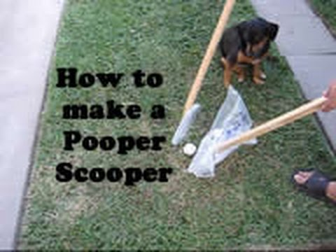 How To Make A Pooper Scooper