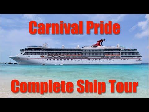 Carnival Pride Complete Ship Tour