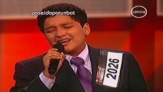 PERU TIENE TALENTO: Jason Guerra Sorprende al Jurado 15/09/12