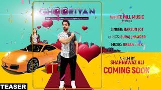 Ghooriyan (teaser) harsun jot feat aman hundal | white hill music | releasing on 22 october