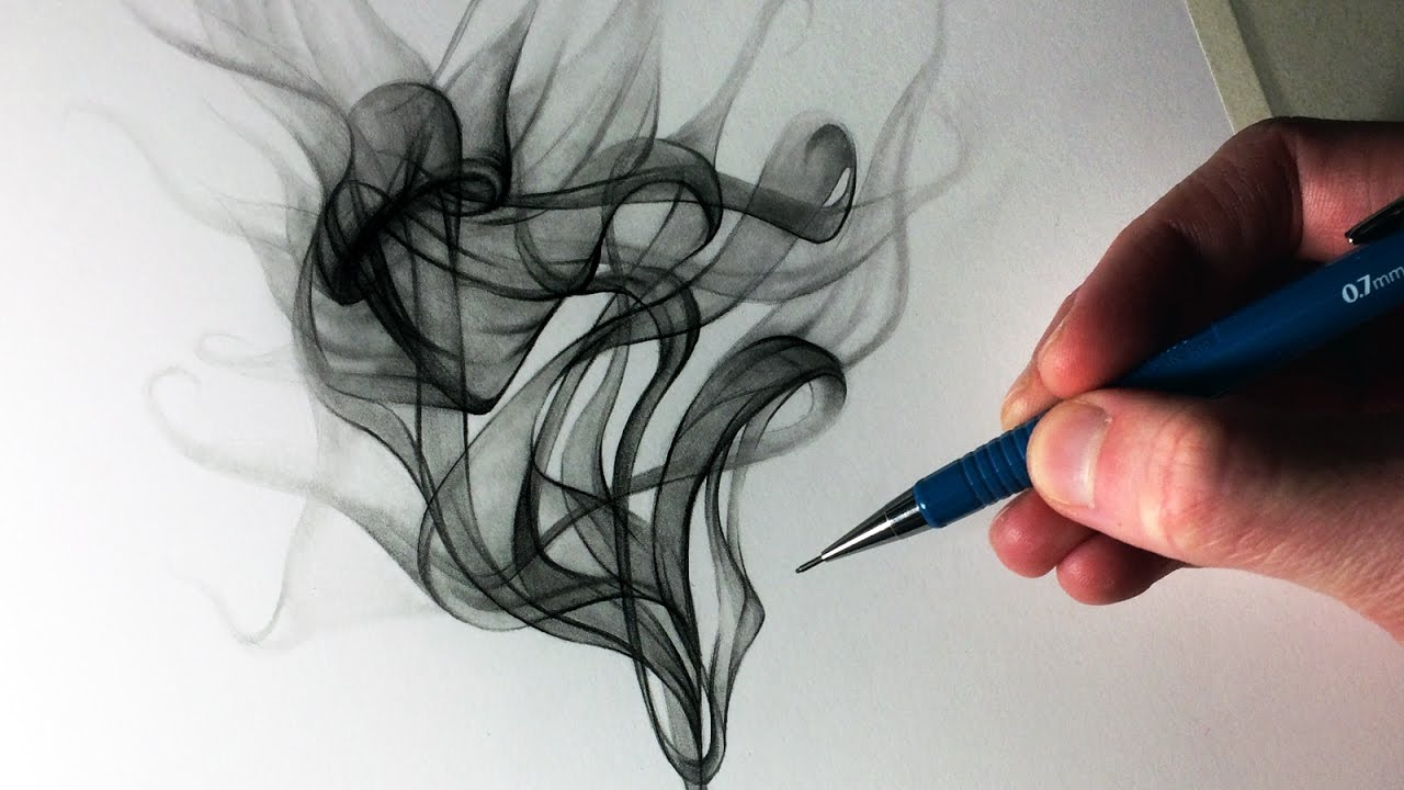 How to draw smoke