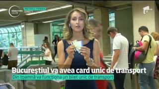 Bucureștiul va avea card unic pentru transportul în comun
