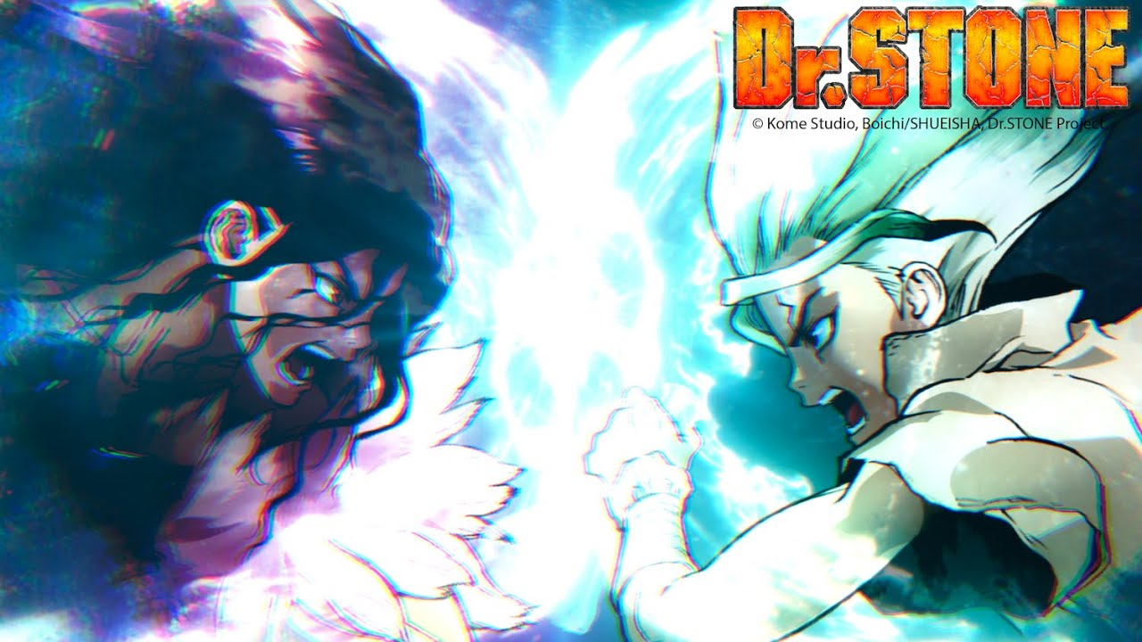 Dr Stone Season 2 Stone Wars Official Trailer Youtube