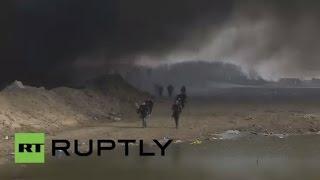 Пожар произошел в лагере для беженцев во французском Кале(, 2016-03-12T09:53:51.000Z)