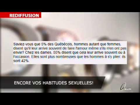 Stéphane Gendron s'interroge sur vos habitudes sexuelles