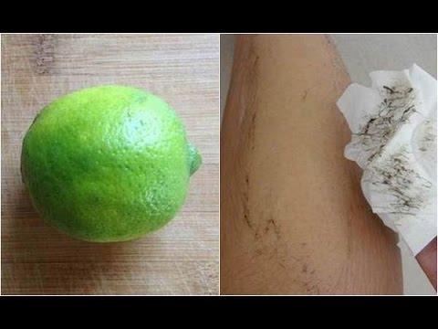 1 quả chanh – 2 cách khiến lông nách, tay và chân tự rụng không còn 1 cọng