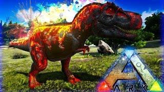 EL REX DE FUEGO A LA SEGUNDA VA A LA VENCIDA!! - ARK SURVIVAL EVOLVED MODS - Patty Dragona