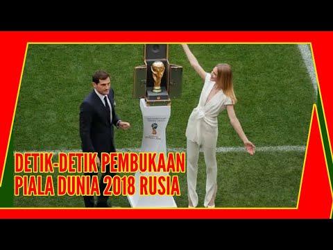 Detik-Detik Pembukaan Piala Dunia 2018 Rusia | Opening Ceremony Fifa World Cup 2018
