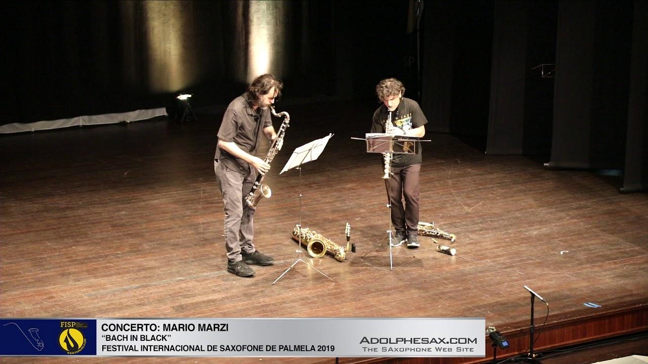 FISPalmela 2019  - Mario Marzi & Achille Succi  - Bach in black I