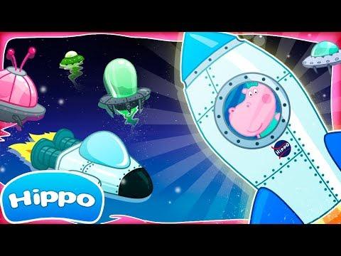 Гиппо 🌼 Космические приключения 🌼 Детский космодром 🌼 Мультфильм Обзор игры (Hippo)