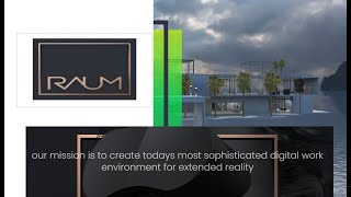 Raum - An Expansive Meeting And Collaboration Space With A Focus On Natural Human Interactions.