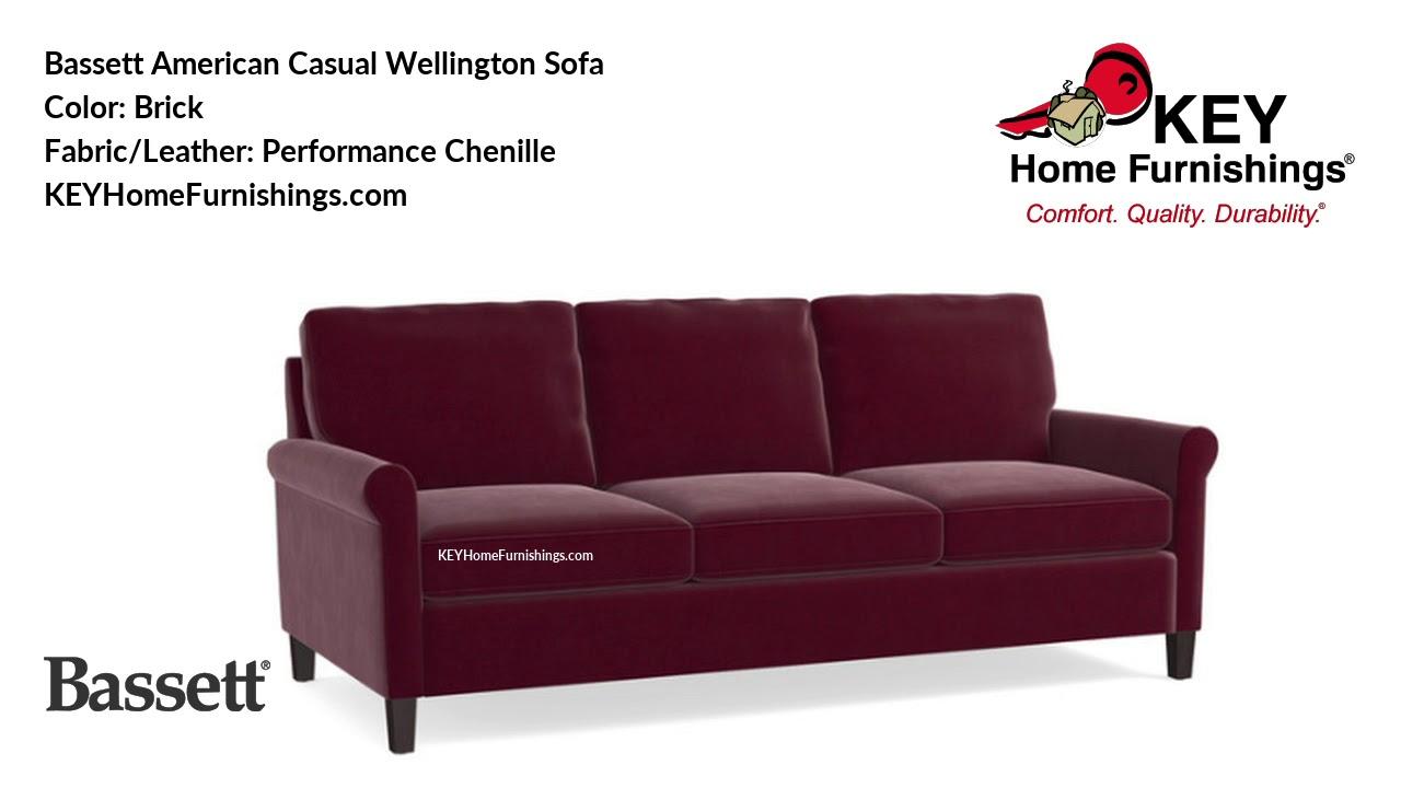 Bett American Casual Wellington Sofa Living Room Furniture Video 2018