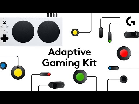 Logitech's Adaptive Gaming Kit is a cheaper way in to accessible gaming