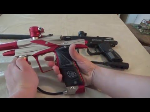 high end vs. low end paintball markers