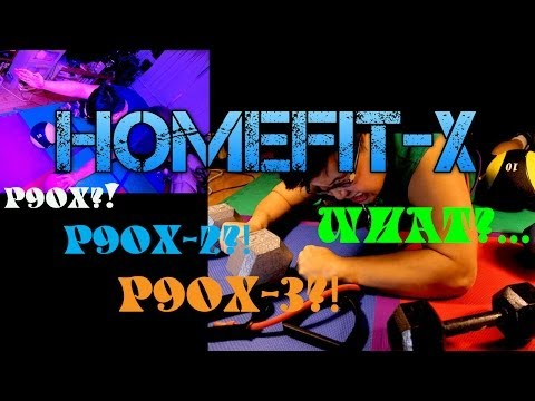 Homefit-X Difference Between P90X P90X2 P90X3 for Beginners