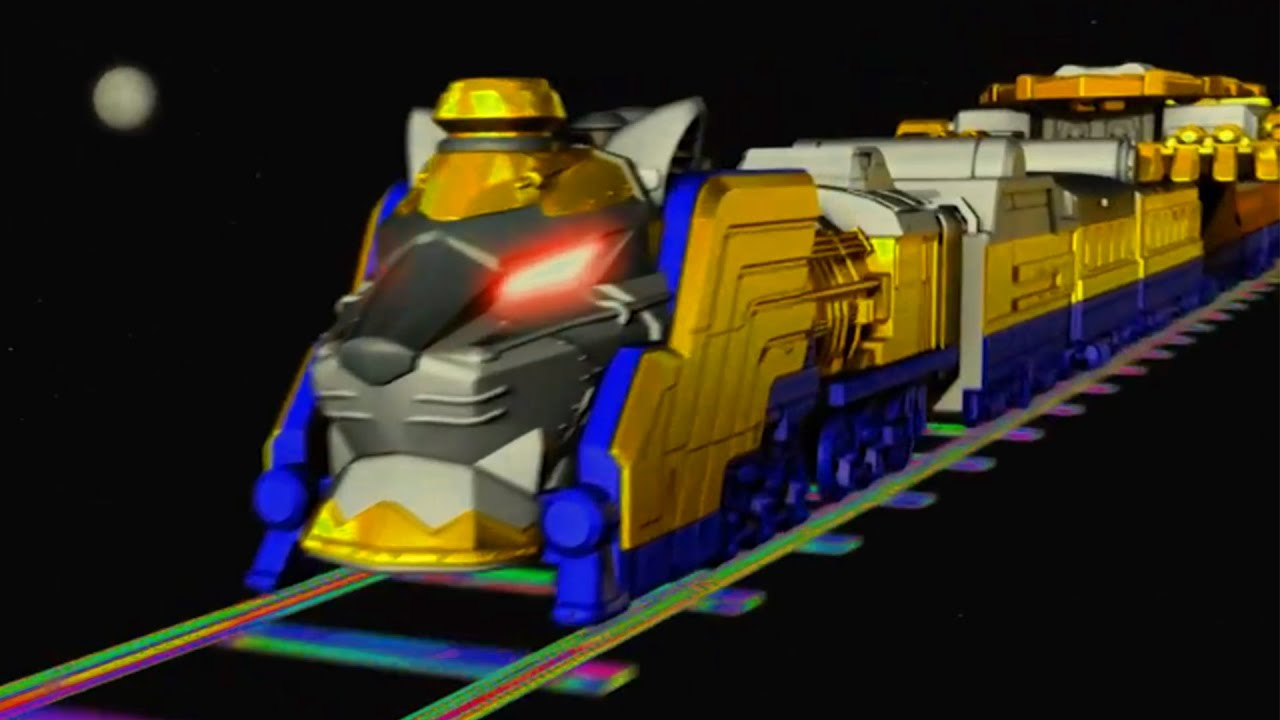 Tàu Hỏa Xa Vàng Lần Đầu Xuất Hiện Trên Trái Đất - Phim Siêu Nhân Đường Sắt Tập Đặc Biệt