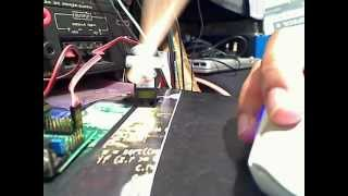 Sigmoid function displacement time servo control