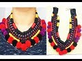 How To-DIY African Inspired  Rope Necklace/Parna's Beauty World