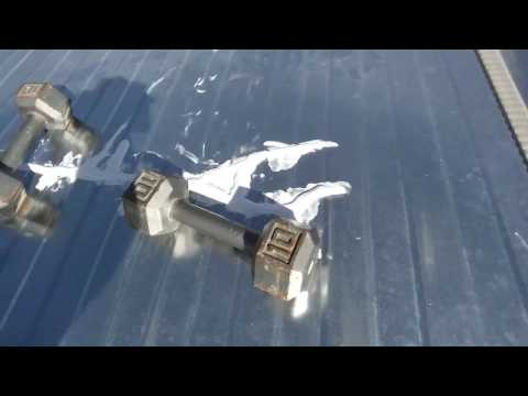 Cheap Fix-Trailer roof repair