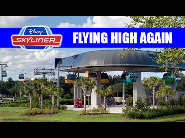 Disney Skyliner Testing Begins In Preparation For Potential Reopening at Walt Disney World