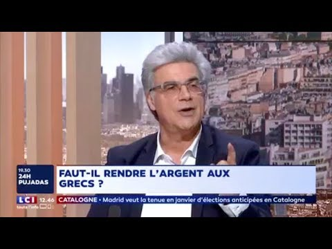 Patrick Le Hyaric - Dette grecque, ISF, élections en Catalogne