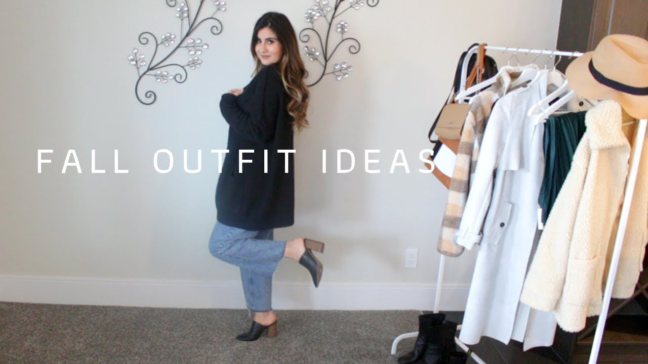 [VIDEO] - 5 FALL OUTFIT IDEAS | 2019 2