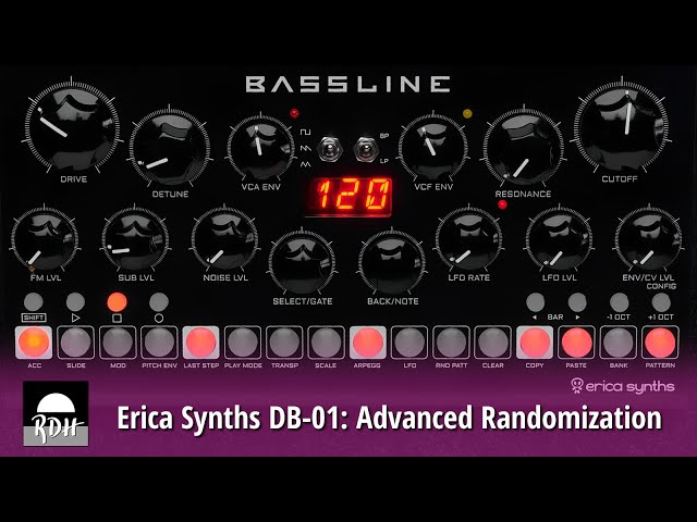Erica Synths DB-01: Advanced randomization