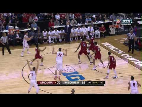 Wisconsin vs. Indiana - 2017 Big Ten Men