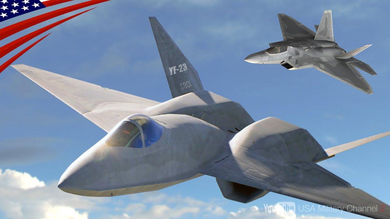 """【米軍・幻のステルス戦闘機】""""YF-23"""" F-22ラプターとの開発競争に敗れたハイスペック機"""