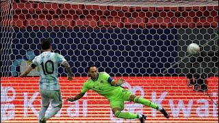 Обзор матча Аргентина Колумбия 1 1 по пенальти 3 2 Copa America 2021 1 2 финала