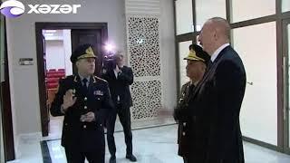 Prezident İlham Əliyev Polis Akademiyasında yeni tədris binasının açılışında iştirak edib