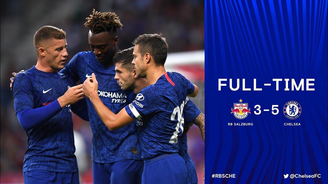 Download Red Bull Salzburg vs Chelsea FC 3-5 Pre-Season FULL HD 1080p All Goals & Highlights (31/7/19)