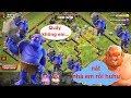 NMT | Clash of clans | Combo troll chay ném đá lv4 max hall12