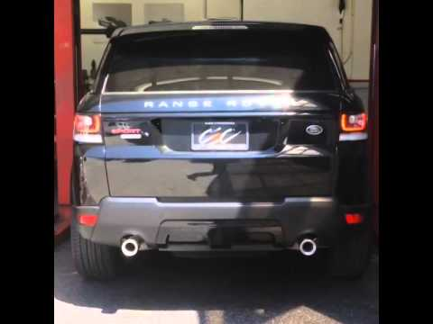 range rover sport 5 0 supercharged sport exhaust 2014 on youtube. Black Bedroom Furniture Sets. Home Design Ideas