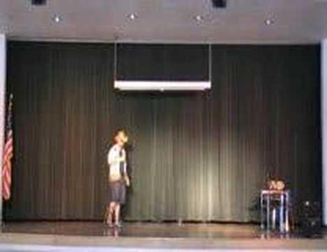 Mr. Alexander talent show cactus 2008