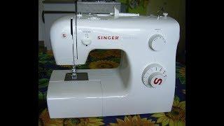 Funktionsprüfung Nähmaschine Singer Tradition 2250 ,Funktionscheck Sewing machine