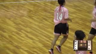 8日 ハンドボール女子 あづま総合体育館 Bコート 佼成学園×今治東 準々決勝 3