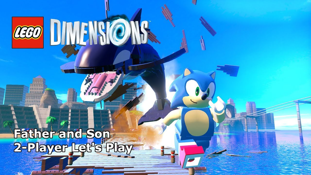 2 Player Let S Play Lego Dimensions Sonic The Hedgehog Level Pack