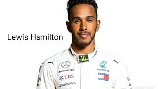 F1 2019 Driver Line Up